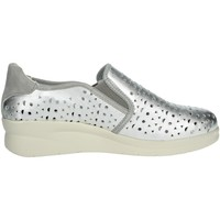 Chaussures Femme Chaussures bateau Riposella 75509 Argent
