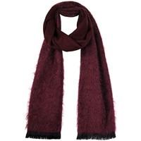 Accessoires textile Femme Echarpes / Etoles / Foulards Qualicoq Echarpe Velouté - Couleur - Bordeaux - Fabriqué en France Bordeaux