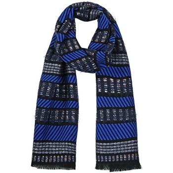 Accessoires textile Femme Echarpes / Etoles / Foulards Qualicoq Echarpe Tipi - Couleur - Bleu - Fabriqué en France Bleu
