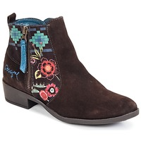 Chaussures Femme Bottines Desigual NATALIA Chocolat
