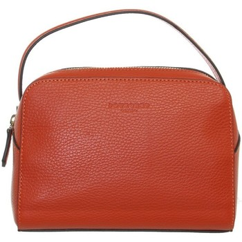 Sacs Femme Sacs porté main Pourchet Sac à main  cuir ref_47121 Orange 21*15*6 Orange