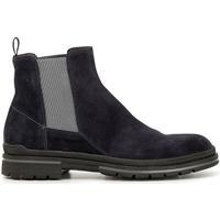 Chaussures Homme Boots Café Noir HTE643 BLU