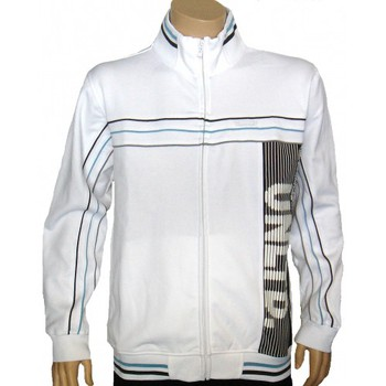 Vêtements Homme Vestes Ecko Ecko Unltd. Veste Zippée Up The Block Track - Blanc blanc