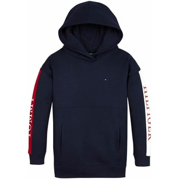 Vêtements Fille Sweats Tommy Hilfiger Kids ESSENTIAL COLORBLOCK LOGO HOODIE blue