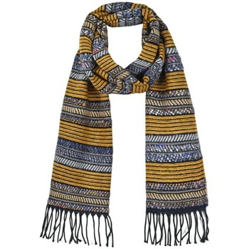Accessoires textile Femme Echarpes / Etoles / Foulards Qualicoq Echarpe Syna - Couleur - Moutarde - Fabriqué en France Moutarde