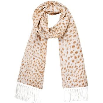 Accessoires textile Femme Echarpes / Etoles / Foulards Qualicoq Echarpe Savana - Couleur - Beige - Fabriqué en France Beige