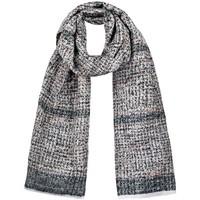 Accessoires textile Femme Echarpes / Etoles / Foulards Qualicoq Echarpe Carmela - Couleur - Noir - Fabriqué en France Noir
