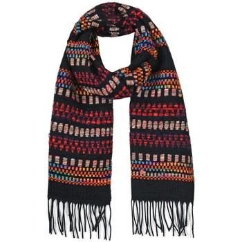 Accessoires textile Femme Echarpes / Etoles / Foulards Qualicoq Echarpe kalina Noir