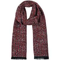 Accessoires textile Femme Echarpes / Etoles / Foulards Qualicoq Echarpe Tango - Couleur - Rouge - Fabriqué en France Rouge