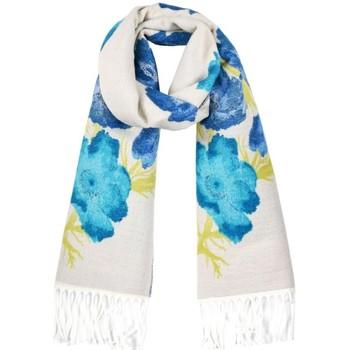 Accessoires textile Femme Echarpes / Etoles / Foulards Qualicoq Echarpe Flana - Couleur - Bleu - Fabriqué en France Bleu