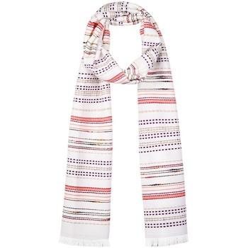 Accessoires textile Femme Echarpes / Etoles / Foulards Qualicoq Echarpe Marna Blanc