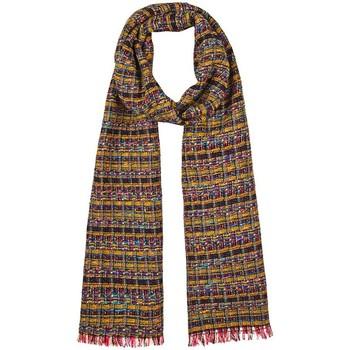 Accessoires textile Femme Echarpes / Etoles / Foulards Qualicoq Echarpe Paya - Couleur - Moutarde - Fabriqué en France Moutarde
