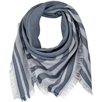 Accessoires textile Femme Echarpes / Etoles / Foulards Qualicoq Echarpe carrée Tilka - Couleur - Gris - Fabriqué en France Gris