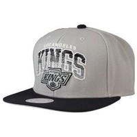 Casquettes Mitchell And Ness - Casquette Snapback Los Angeles KINGS - Stack
