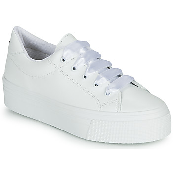 Chaussures Femme Baskets basses Yurban JUNNY Blanc