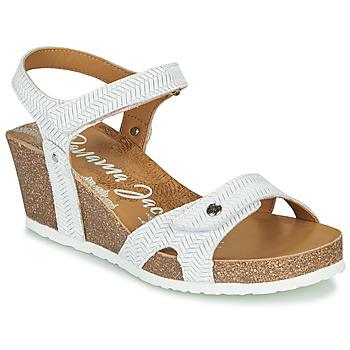 Chaussures Femme Sandales et Nu-pieds Panama Jack JULIA Blanc