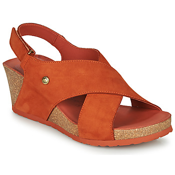 Chaussures Femme Sandales et Nu-pieds Panama Jack VALESKA Marron