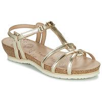 Chaussures Femme Sandales et Nu-pieds Panama Jack DORI Doré