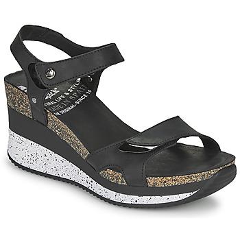 Chaussures Femme Sandales et Nu-pieds Panama Jack NICA Noir