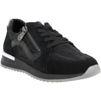 Chaussures Femme Baskets basses Rieker n7033 noir