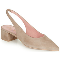 Chaussures Femme Escarpins Pretty Ballerinas ANGELIS SAFARI Beige