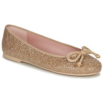 Chaussures Femme Ballerines / babies Pretty Ballerinas BELLE SAND Doré