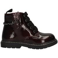 Chaussures Fille Boots Asso AG-4753 BORDEAUX