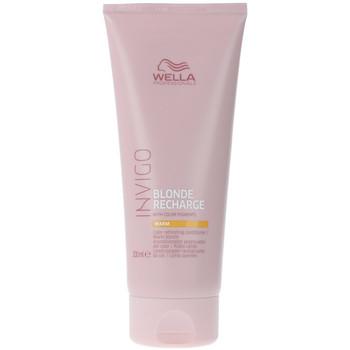 Beauté Soins & Après-shampooing Wella Invigo Blonde Recharge Conditioner warm  200 ml