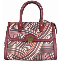 Sacs Femme Sacs porté main Ted Lapidus Sac à main  TL VT Foggia motif coloré Bordeaux rouge