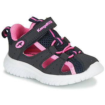 Chaussures Fille Sandales et Nu-pieds Kangaroos KI-ROCK LITE EV Bleu / Rose