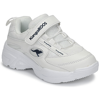 Chaussures Fille Baskets basses Kangaroos KC-CHUNKY EV Blanc