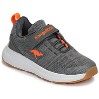 Chaussures Enfant Baskets basses Kangaroos KB-Hook EV Gris / Orange