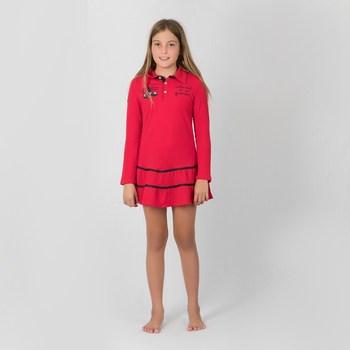 Vêtements Fille Robes courtes Interdit De Me Gronder MOOVE Rouge