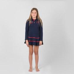 Vêtements Fille Robes courtes Interdit De Me Gronder ROYAL Bleu