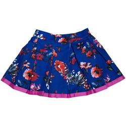 Vêtements Fille Jupes Interdit De Me Gronder FLOWER Bleu
