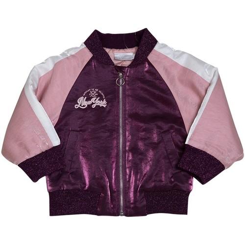 Vêtements Fille Manteaux Interdit De Me Gronder BOMBINA Rose