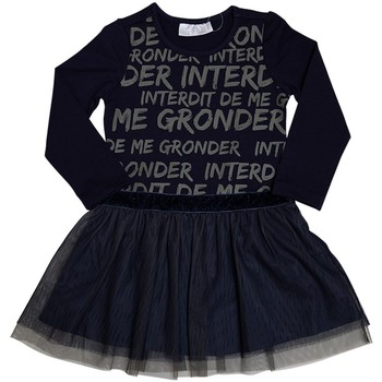 Vêtements Fille Robes Interdit De Me Gronder LILIZA Bleu marine