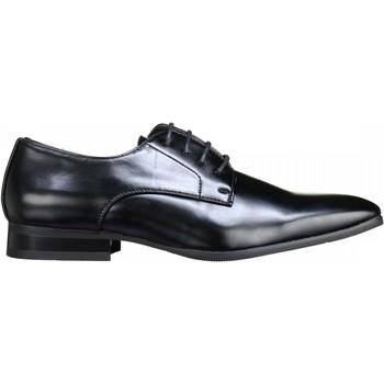 Chaussures Homme Derbies Uomo Derbie habillées Noir