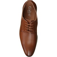 Chaussures Homme Derbies Uomo Derbie habillées Marron