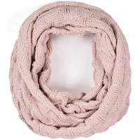 Accessoires textile Femme Echarpes / Etoles / Foulards Mokalunga Snood Nora vieux-rose