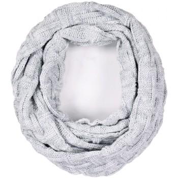 Accessoires textile Femme Echarpes / Etoles / Foulards Mokalunga Snood Nora Gris clair