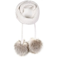 Accessoires textile Femme Echarpes / Etoles / Foulards Mokalunga Echarpe Layra Blanc