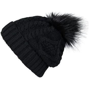 Accessoires textile Femme Bonnets Mokalunga Bonnet Egéria Noir