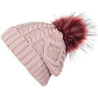 Accessoires textile Femme Bonnets Mokalunga Bonnet Egéria vieux-rose