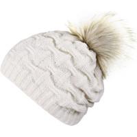 Accessoires textile Femme Bonnets Mokalunga Bonnet Nora Blanc