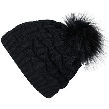 Accessoires textile Femme Bonnets Mokalunga Bonnet Nora Noir