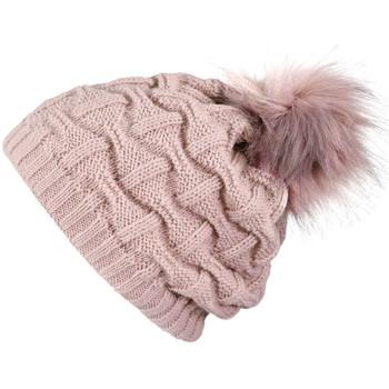 Accessoires textile Femme Bonnets Mokalunga Bonnet Nora vieux-rose