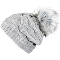 Accessoires textile Femme Bonnets Mokalunga Bonnet Nora Gris clair