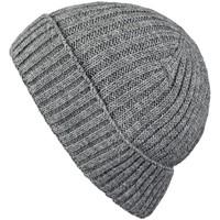 Accessoires textile Homme Bonnets Mokalunga Bonnet court Dakota Gris