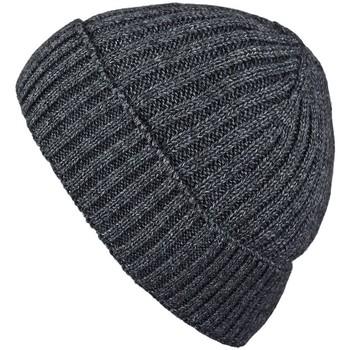Accessoires textile Homme Bonnets Mokalunga Bonnet court Dakota Anthracite